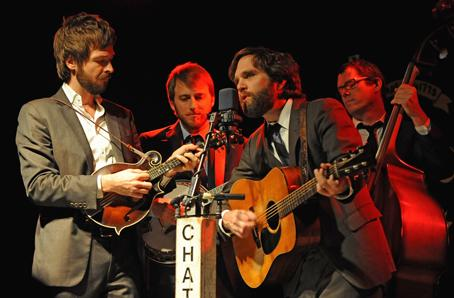 Bluegrass Musical Group, Chathan County Line At Jammin Java