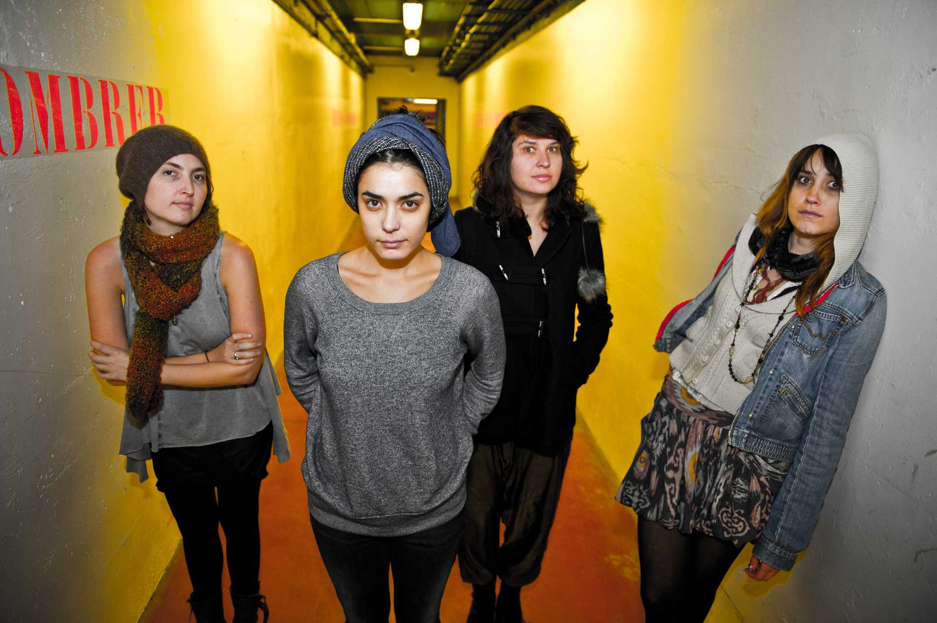 Warpaint - Exclusive Photo Session at Maison de La Radio
