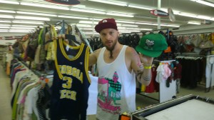 Shinobi Ninja Thrift Shopping