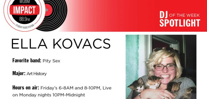 DJ Spotlight of the Week | Ella Kovacs
