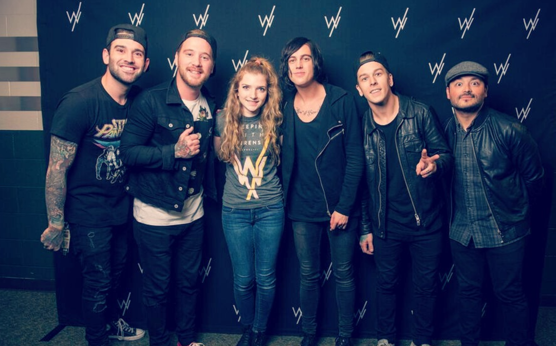 Sleeping with sirens celeb encounters as the day of the concert rolled around i had an insane amount of butterflies in my stomach i was finally going to meet my favorite band m4hsunfo