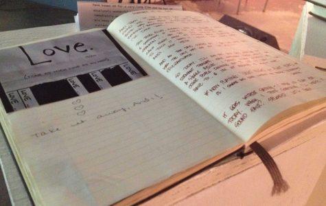 Journal demonstrates the power of handwriting, serenity
