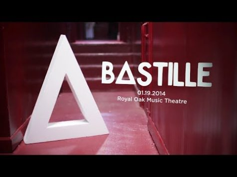 VIDEO PREMIERE: Bastille Backstage @ Royal Oak Music Theatre