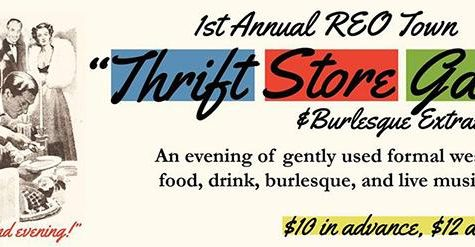 Thrift Store Gala coming to Reo Town
