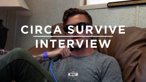 VIDEO PREMIERE: Circa Survive Interview @ Common Ground