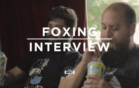 VIDEO PREMIERE: Foxing - Interview @ Howland House