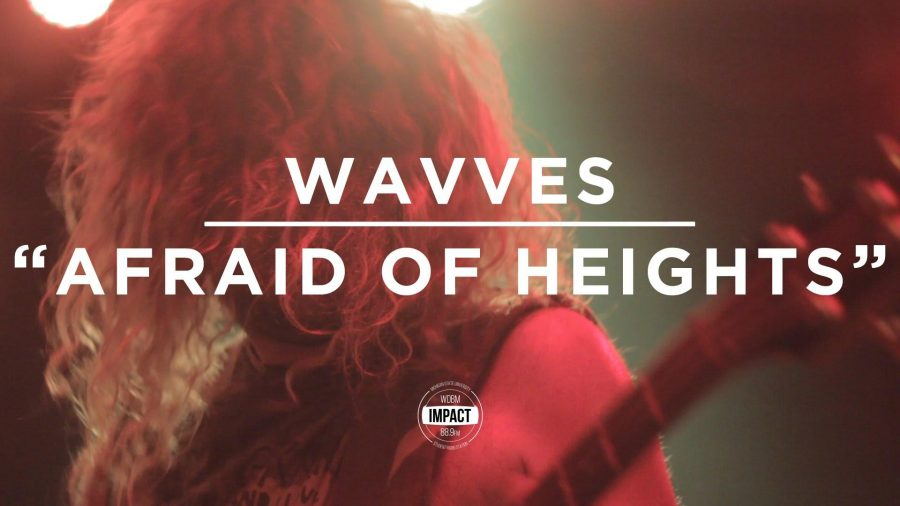 VIDEO+PREMIERE%3A+WAVVES+-+%22Afraid+of+Heights%22+%28Live+%40+The+Loft%29