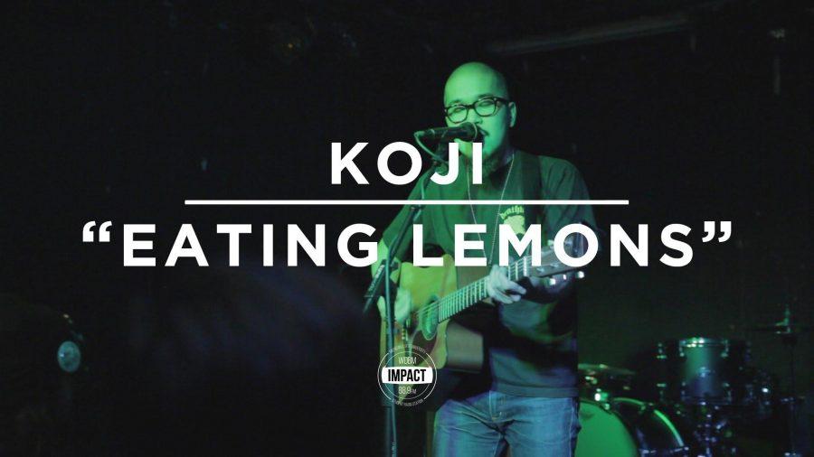 VIDEO+PREMIERE%3A+Koji+-+%22Eating+Lemons%22+%28Live+%40+Mac%27s+Bar%29