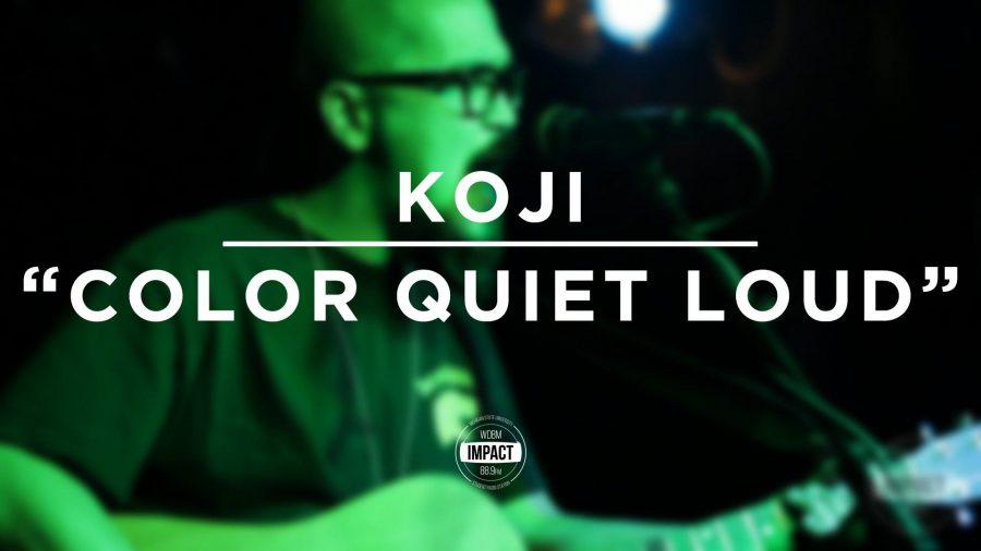 VIDEO+PREMIERE%3A+Koji+-+%22Color+Quiet+Loud%22+%28Live+%40+Mac%27s+Bar%29