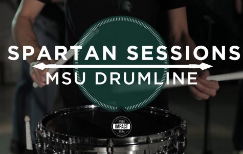 Video Premiere: Spartan Sessions: MSU Drumline