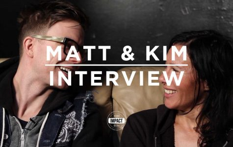 VIDEO PREMIERE: Matt and Kim Interview @ Royal Oak Music Theater