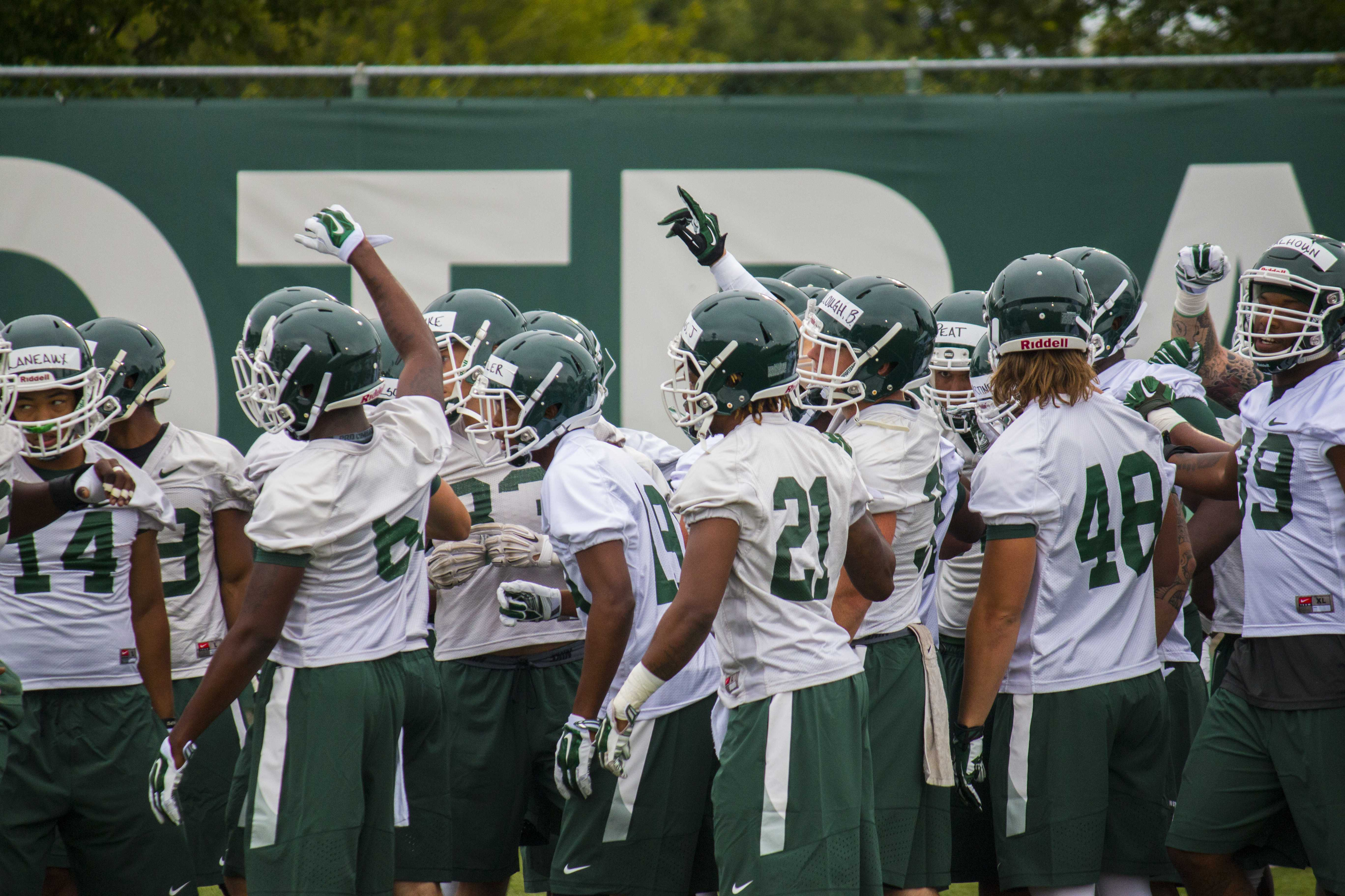 Photo Gallery: MSU Football | First Day of Practice