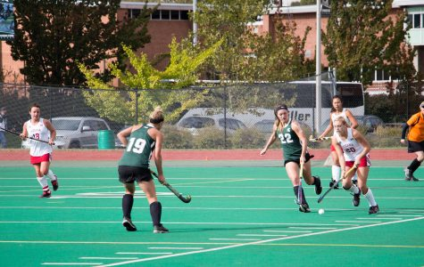 Field Hockey's Senior Day Festivities Spoiled by the Wolverines