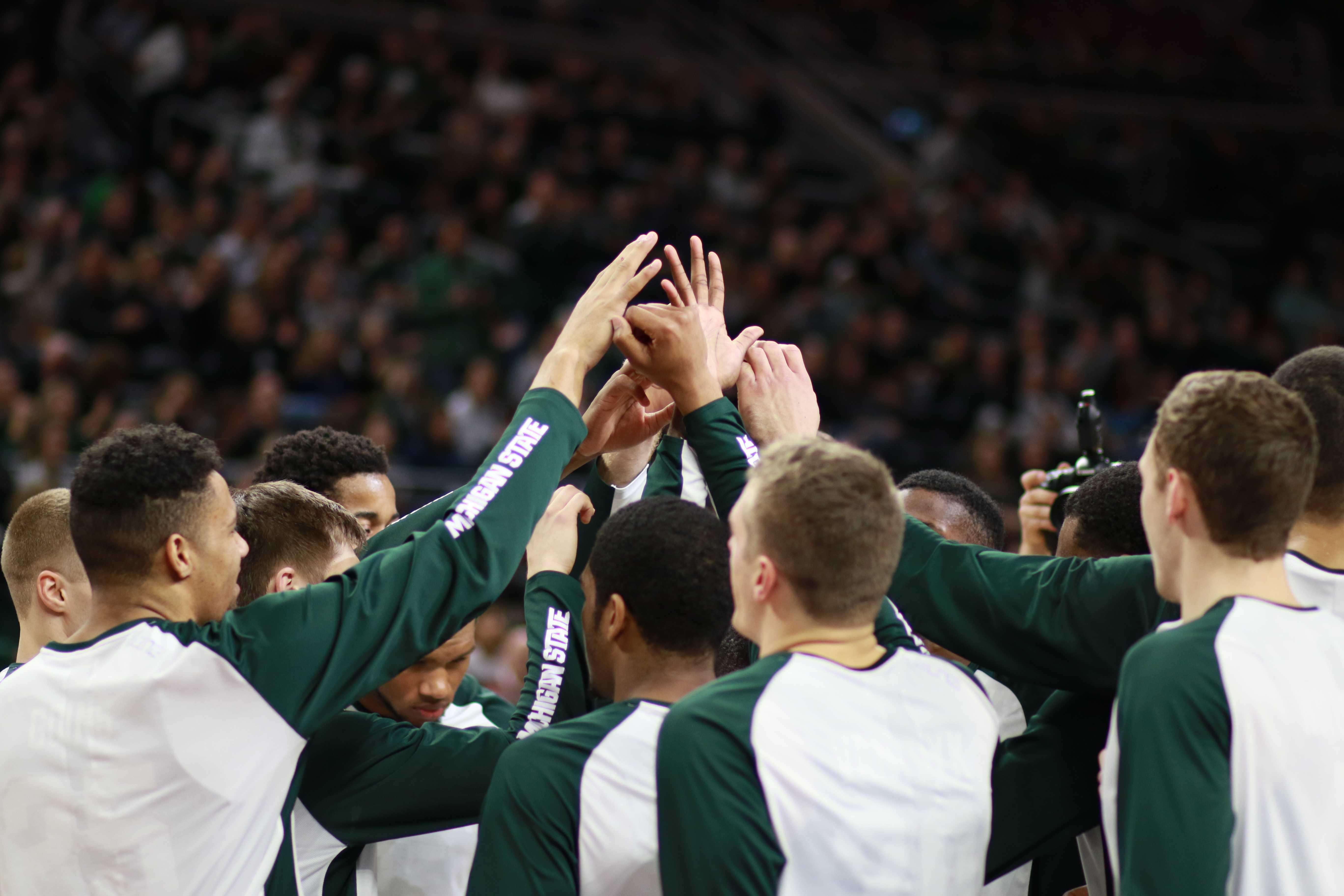 Spartans Can't Stop Hawkeye Three-Point Barrage; Lose Rematch at Home