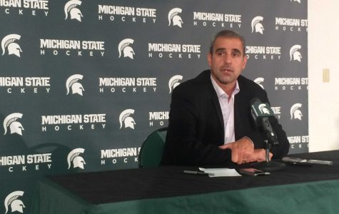 MSU Hockey Players, Coaches Discuss High Expectations at Media Day