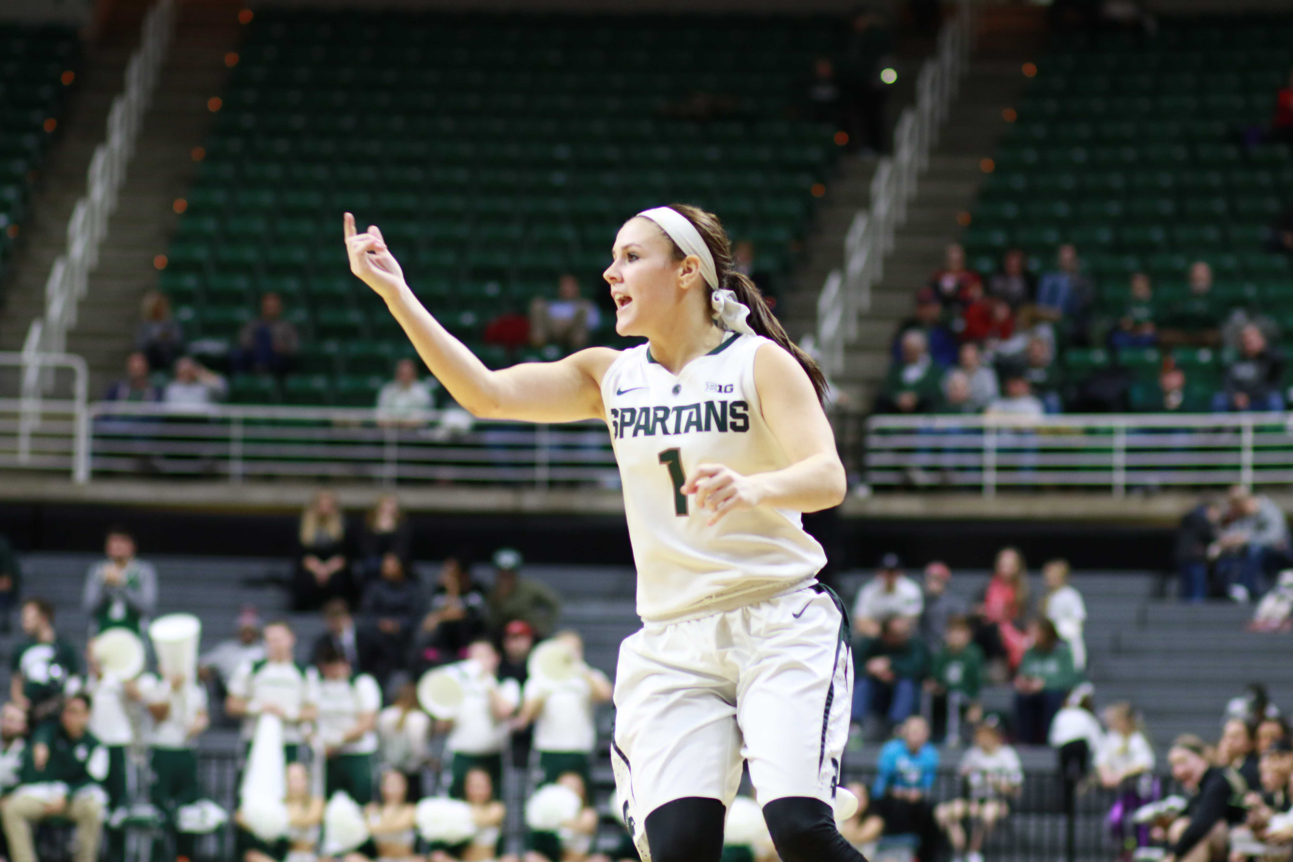 Spartans Win Fifth Straight, Beat Rival Wolverines 85-64