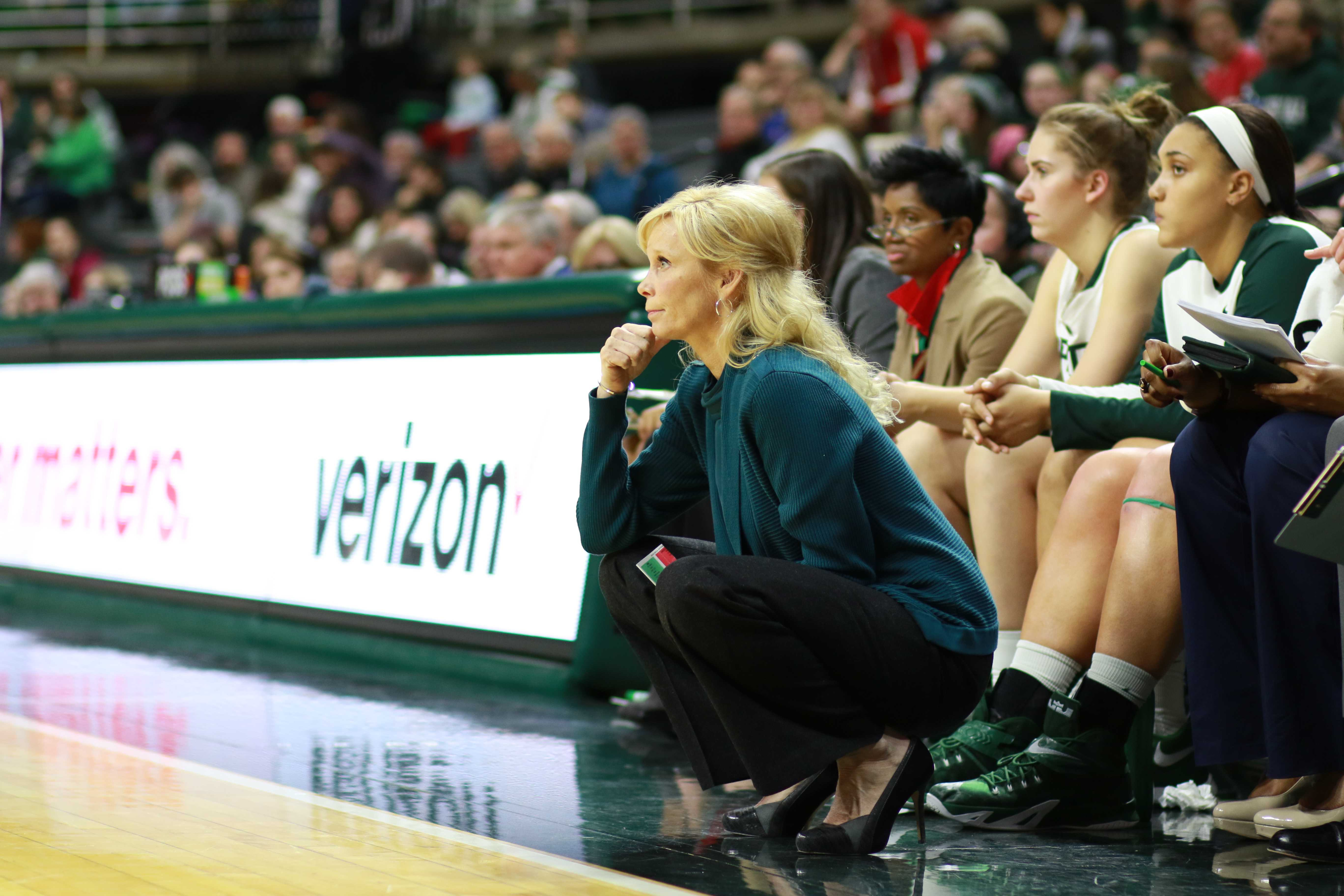 Spartans Upset by Lowly Lady Lions