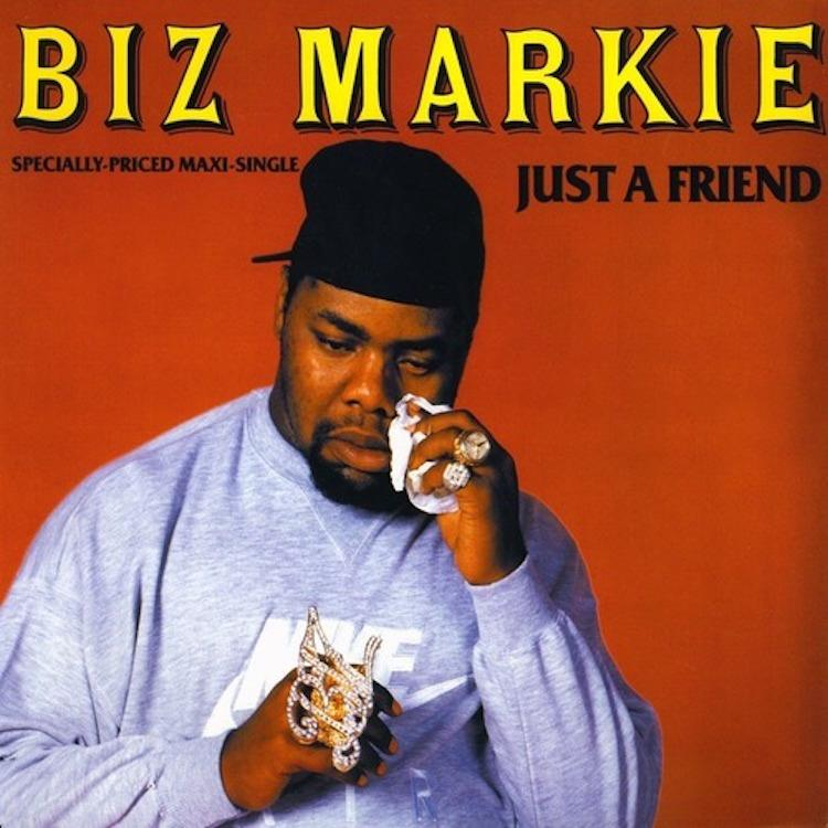 Biz Markie - Just A Friend (Cold Chillin'/Warner Bros), 1989