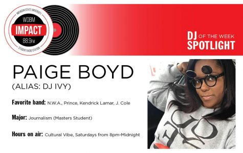 DJ Spotlight of the Week   Paige Boyd