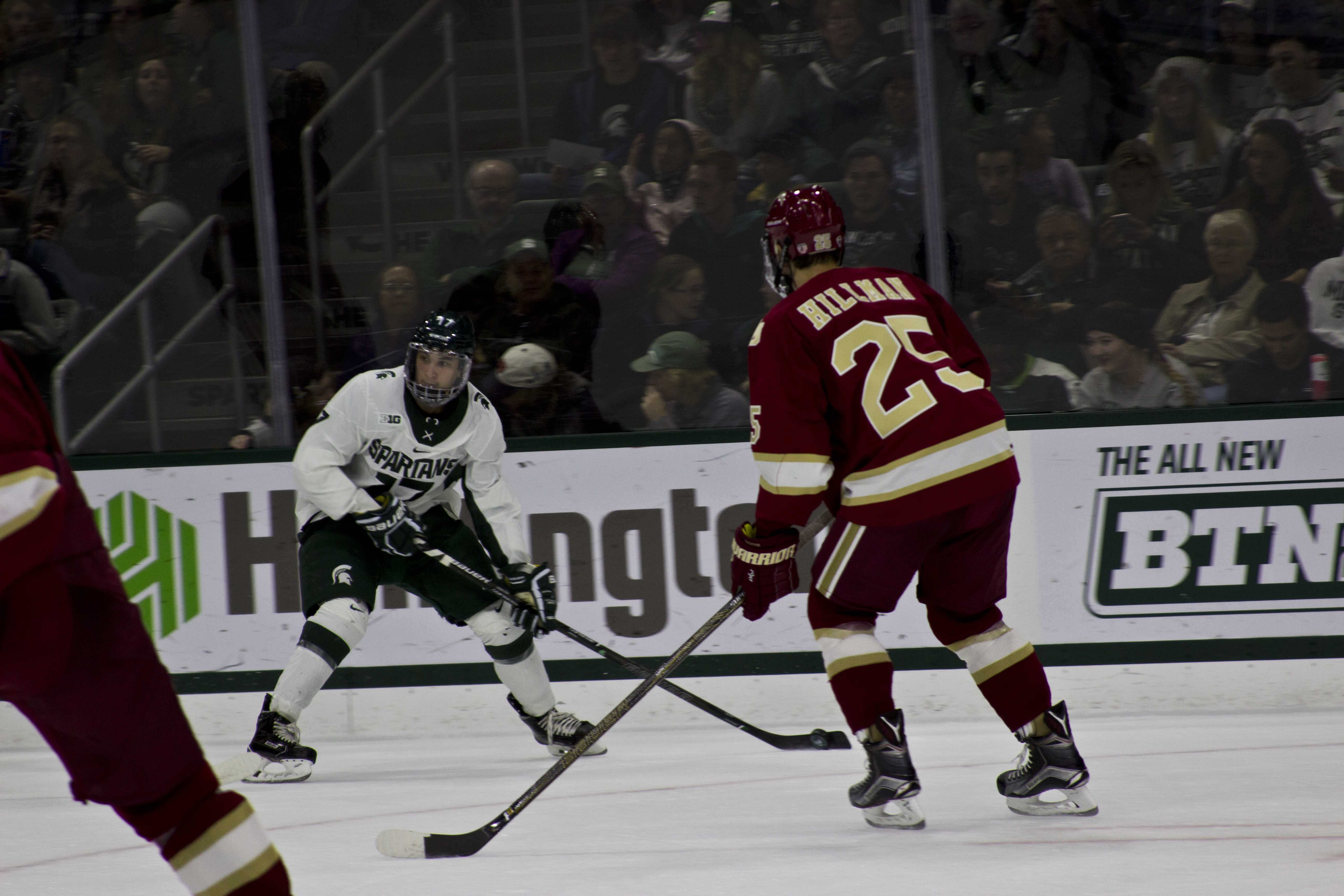 Spartans Lose To Denver, Swept For Second Straight Weekend