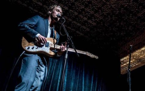 Local folk artist Monte Pride shares his first full-length album with the Lansing community