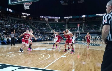 Spartans Extend Win Streak, Beat Indiana 69-60