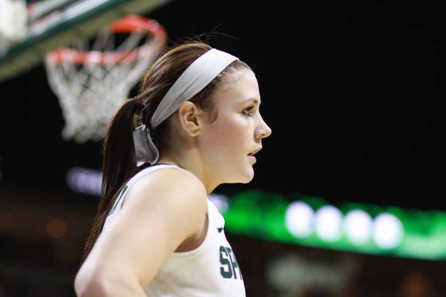 Jankoska+surpasses+2%2C000+career+points%2C+but+Spartans+Fall+to+No.+3+Maryland