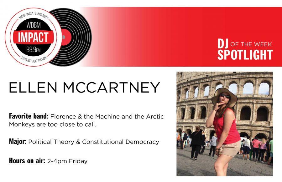 DJ Spotlight of the Week | Ellen McCartney