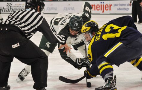 Spartans Fall in Shootout, Lose Iron D Trophy to Michigan