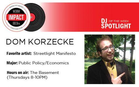 DJ Spotlight of the Week | Dom Korzecke