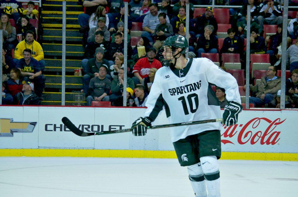 Spartans%27+Season+Ends+With+6-3+Defeat+at+Joe+Louis+Arena