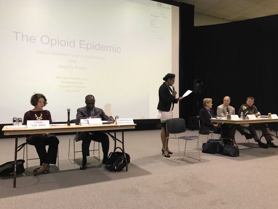 Ingham County Officials Discuss Opioid Epidemic
