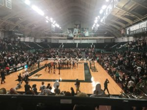 Spartan volleyball swept by the Nittany Lions