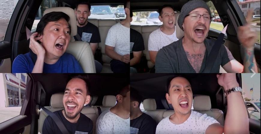 Watch Linkin Park's Carpool Karaoke with comedian Ken Jeong