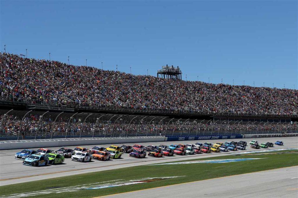 Talladega presents the ultimate wild card race