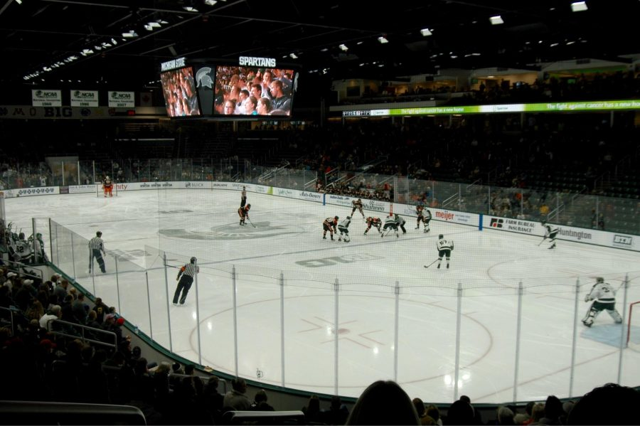 Munn Ice Arena/ Photo Credit: Jacob Herbert/Impact