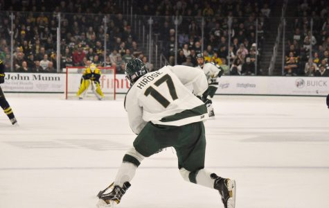 Spartans sneak past Ferris with Hirose's OT goal