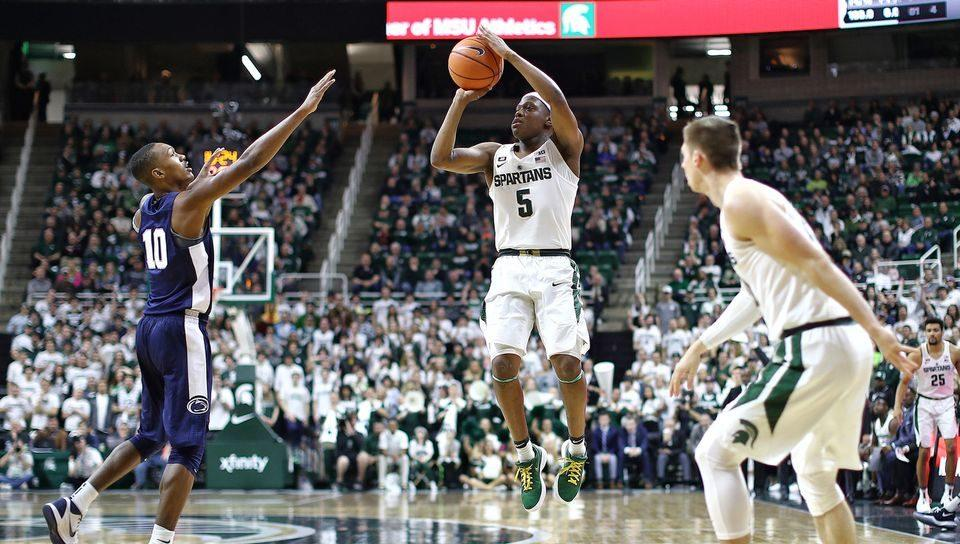 Spartans return to comfortable rhythm at home