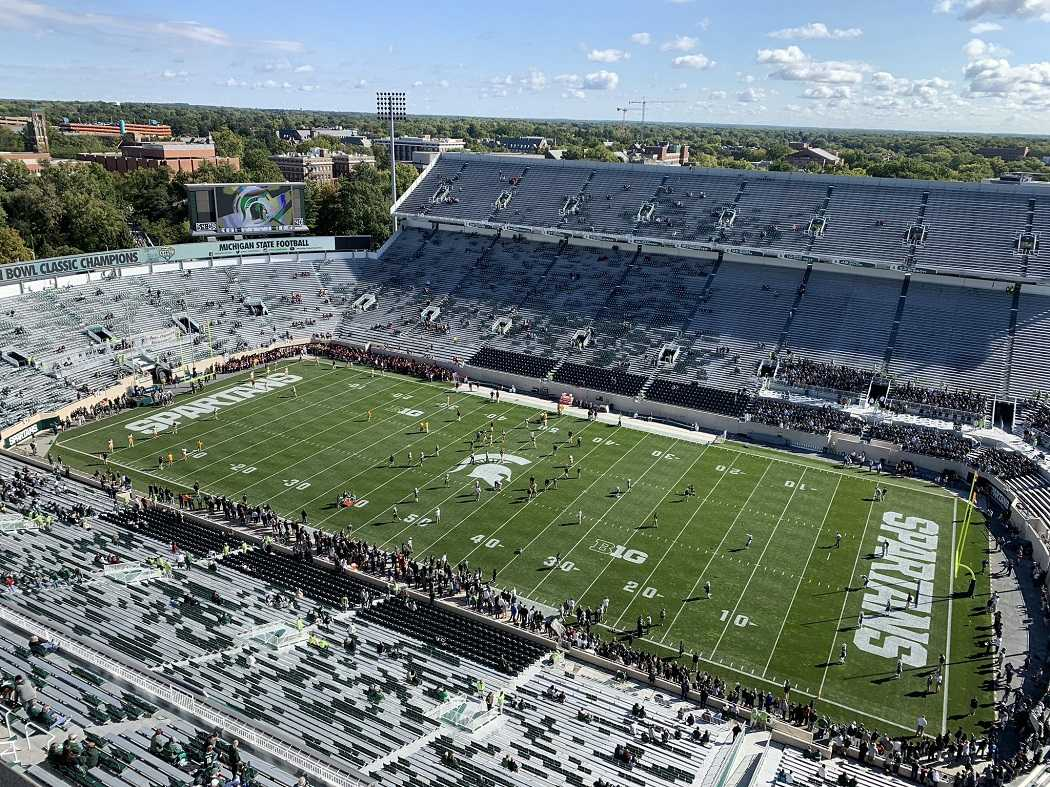 Spartan Stadium (Photo: WDBM)