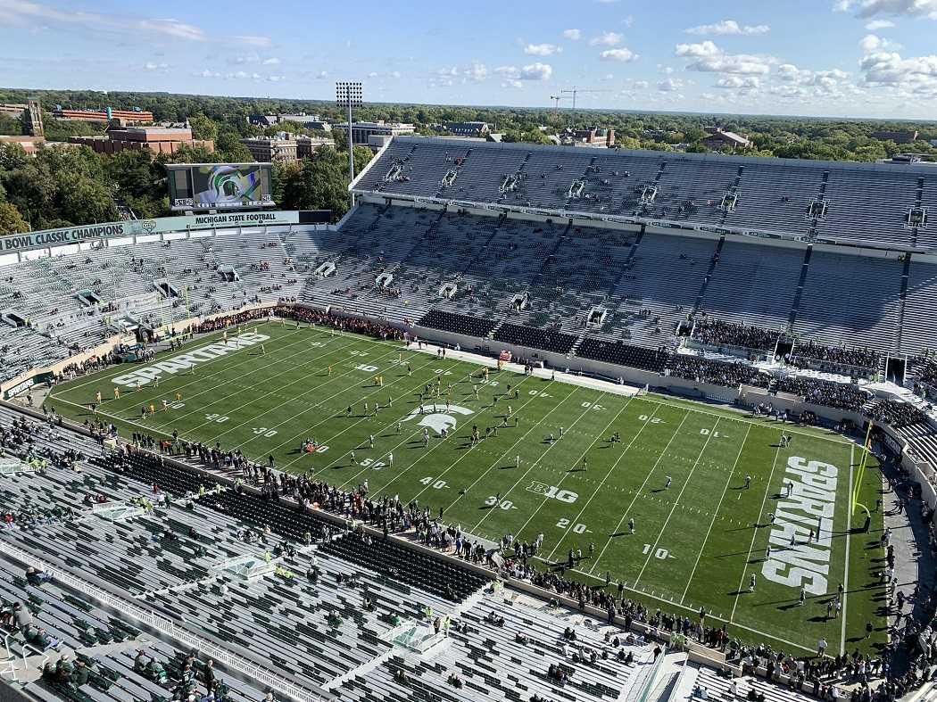 Spartan Stadium (Photo: WDBM)