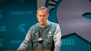Late rally falls short as Maryland offensive onslaught buries Spartans