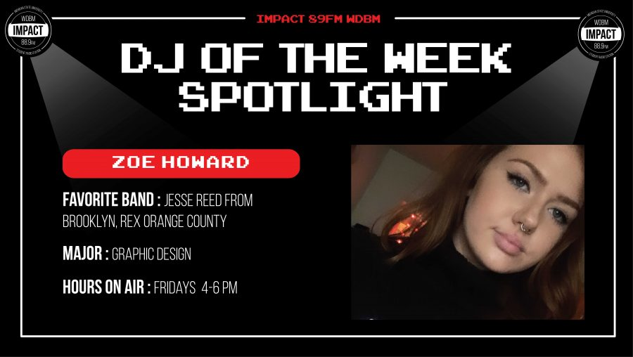 DJ+Spotlight+of+the+Week+%7C+Zoe+Howard