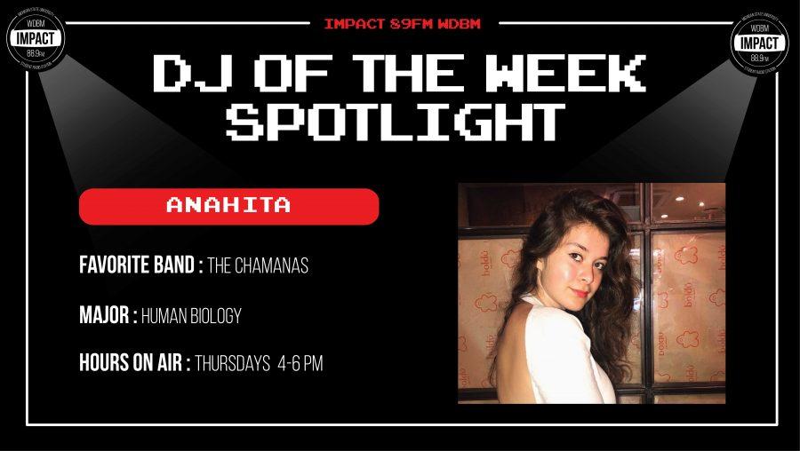 DJ Spotlight of the Week | Anahita