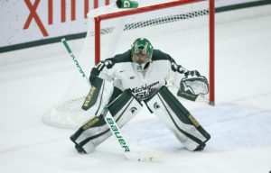 Mistakes Prove to be Difference in Spartans 4-1 Loss to North Dakota