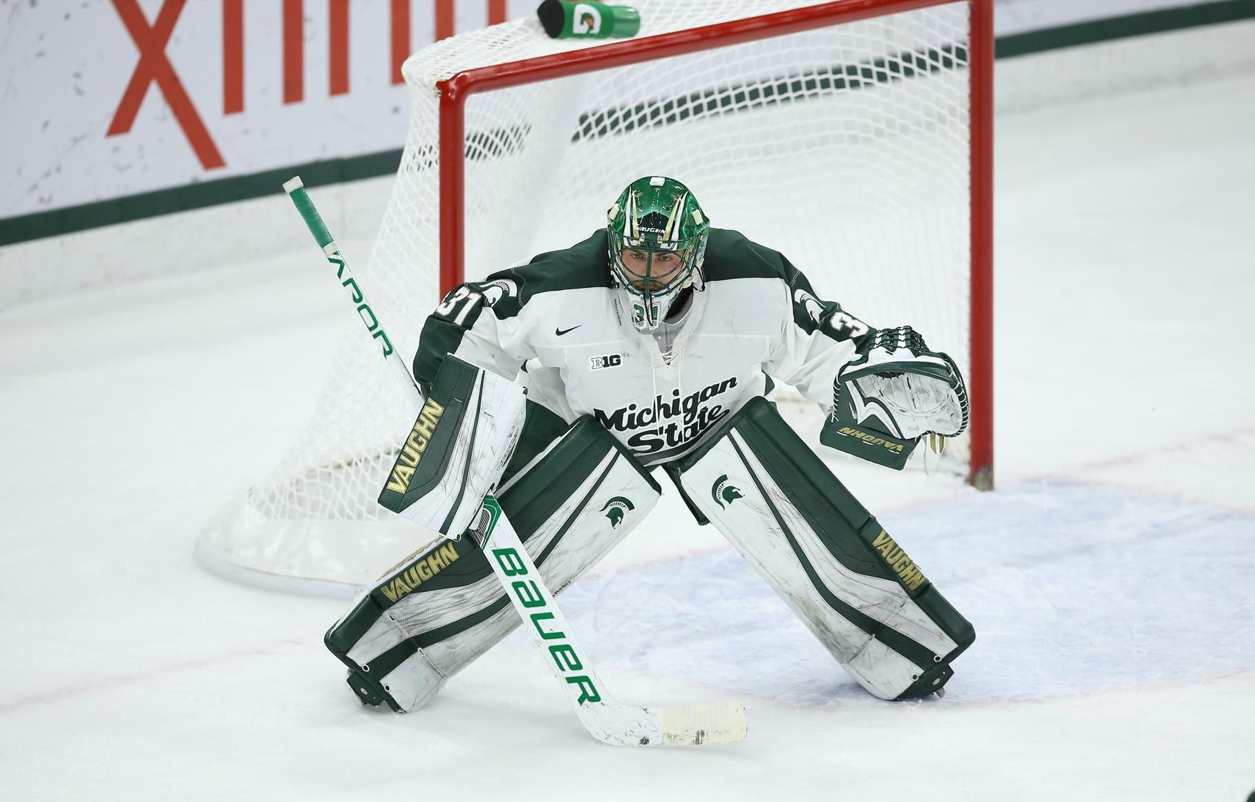Spartans drop game against No. 3 Notre Dame in shootout