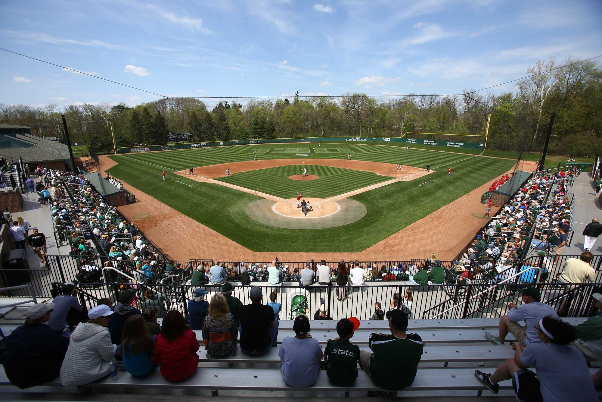 Michigan State Baseball names 2020 captains