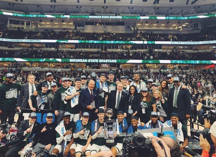 Michigan State conquers rivals to win the Big Ten championship