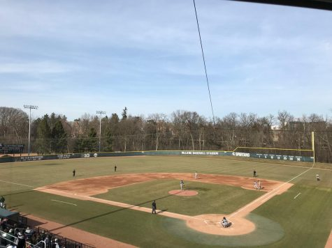 Walker's 2 hits not enough as Spartans drop home game to CMU