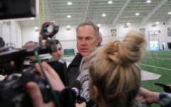 "Lewerke's arm ""live"" according to Dantonio, offense ""explosive"" as MSU completes first scrimmage of spring"