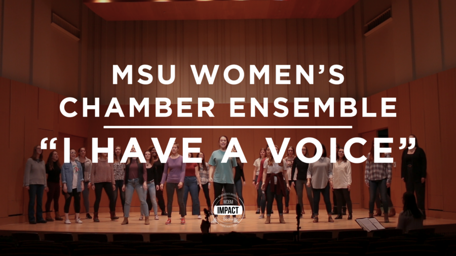 """I Have a Voice"" 